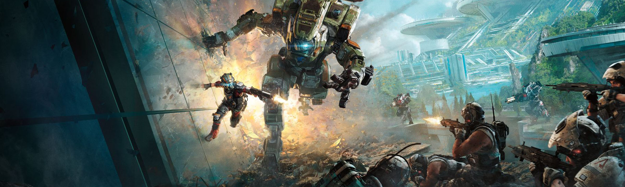 Titanfall 2 Campaign Live Gameplay